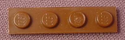 Lego 3710 Brown 1x4 Plate