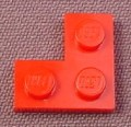Lego 2420 Red 2x2 Corner Plate