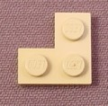 Lego 2420 Tan 2x2 Corner Plate, Disney, Star Wars, Harry Potter
