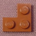 Lego 2420 Reddish Brown 2x2 Corner Plate