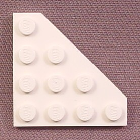 Lego 30503 White 4x4 Triangle Plate, Star Wars, Batman