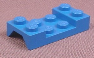 Lego 3788 Blue 2x4 Car Mudguard Fender