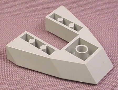 Lego 2626 Gray 6x6 Tapered Boat Base, 5955 7141, Star Wars, Adventurers