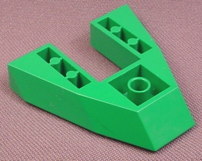 Lego 2626 Green 6x6 Tapered Boat Base, 1354, Studios