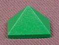 Lego 3048 Green 45 1x2 Triple Sloped Brick, 1354 4048 4097 4101 4679 4696 8780