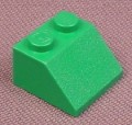 Lego 3039 Green 45 2x2 Sloped Brick