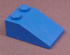 Lego 3298 Blue 33 3x2 Sloped Brick