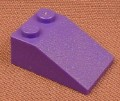 Lego 3298 Violet 33 3x2 Sloped Brick, 2045