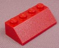 Lego 3037 Dark Red 45 2x4 Sloped Brick, 4696 4840 5766 6205 7299 7477 7679 7751 8019 8088 8102