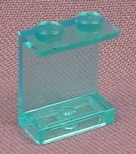 Lego 4864 Transparent Light Blue 1x2x2 Panel With Solid Studs, Space, Divers
