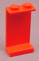 Lego 2362 Red 1x2x3 Panel With Solid Studs, 4030 6592 6079 8837 6396 6484 4549 8872 6047 6099