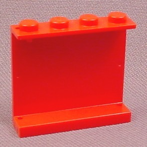 Lego 4215 Red 1x4x3 Panel, 3438 5563 6335 6484 7239 7898 7905 8153 8155 65799