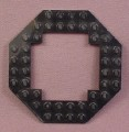 Lego 6063 Black Octagonal Plate with Open Center, 2161 6180 6455 6975, Aquazone