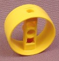 Lego 41531 Yellow 4x2x2 Technic Cylinder with 3 Pin Holes & Center Bar, 4794 7775 8037 4795