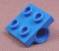 Lego 2817 Blue 2x2 Plate with 2 Axle Mounts on Bottom, 1843 5870 6452 6469, Space, Belville