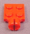 Lego 3730 Red 2x2 Plate with Towball Socket