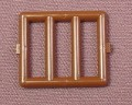 Lego 6016 Brown 1x4x3 Window With Bars, 1186 3018 6277 6279 7101, Star Wars, Pirates, Castle