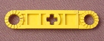 Lego 2711 Yellow Technic 5L Rotor Blade with 2 Studs, Rounded Ends, Holes With Cogs, 8431