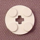Lego 4032 White 2x2 Round Plate with Center Technic Hole, Star Wars, NASA, Mindstorms, Space
