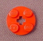 Lego 4032 Red 2x2 Round Plate with Center Technic Hole, Star Wars, Harry Potter, Trains, Space