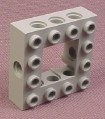 Lego 32324 Gray 4x4 Technic Brick with open 2x2 Center, 10030 8279 9754 7047 4483 7181 10123