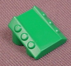 Lego 30603 Green 2x2x1 Sloped Brick with Flanges & Pistons, 4048 4097 4300, Designer