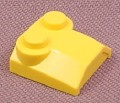 Lego 41855 Yellow 2x2x2/3 Triple Sloped Brick with 2 Top Studs, 4047 4888 4096 7143 7047 7133