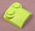 Lego 41855 Lime Green 2x2x2/3 Triple Sloped Brick with 2 Top Studs, 4411 4596 7133 8356