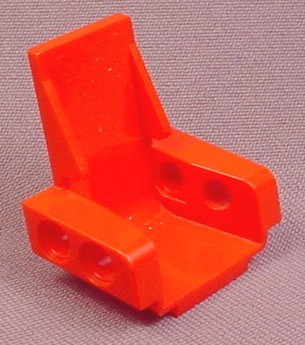 Lego 2717 Red Technic 3x2 Seat Chair On Base, 8868 8818 8286 8825 8850 8226 8712 8824 8230 8235