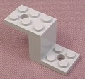 Lego 6087 Medium Stone Gray 5x2x2 Bracket, 4210 7633 7637 7684 7892 8964 10159 10211