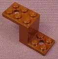 Lego 6087 Brown 5x2x2 Bracket, 7316
