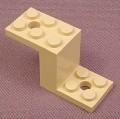 Lego 6087 Tan 5x2x2 Bracket, 5958, Adventurers