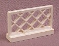 Lego 3185 White 1x4x2 Fence with Lattice