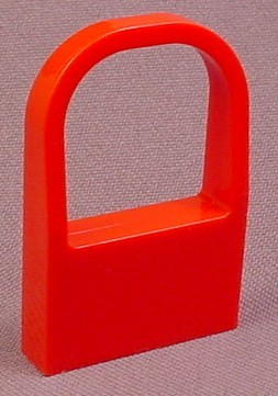 Lego 264 Red 1x4x5 Curved Top Window with Wall, Car Windshield, 3625 3641 3682 4167 3630