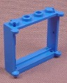 Lego 3853 Blue 1x4x3 Window Frame