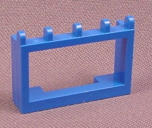 Lego 4214 Blue 1x4x2 Hinged Car Roof Holder, Racers