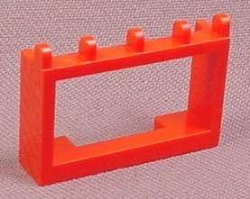 Lego 4214 Red 1x4x2 Hinged Car Roof Holder, Racers