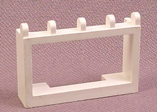 Lego 4214 White 1x4x2 Hinged Car Roof Holder, Racers