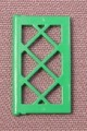 Lego 2529 Green 1x2x3 Latticed Window Panel, 6444 6494, Outback, Time Cruisers