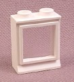Lego 7026 White 1x2x2 Classic Window With Glass Pane, 3081CC01