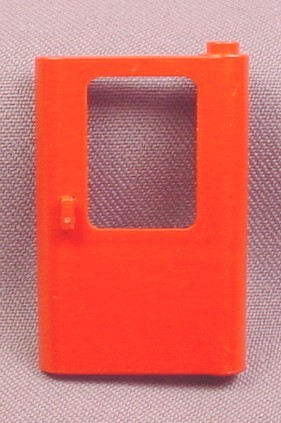 Lego 4182 Red 1x4x5 Left Train Door Without Glass Pane, 5571 7720 7725 7755 7820 10183, Trains