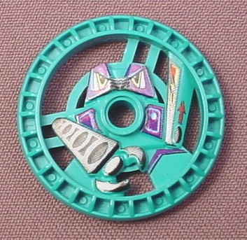 Lego 32363 Teal 5x5 Technic Disc, Grab, 8509