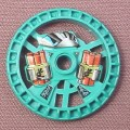 Lego 32356 Teal 5x5 Technic Disc, Dynamite