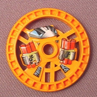 Lego 32356 Orange 5x5 Technic Disc, Dynamite