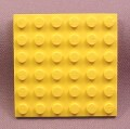 Lego 3958 Yellow 6x6 Plate, Pirates