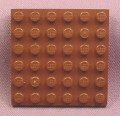 Lego 3958 Brown 6x6 Plate, 1370 5901 5902 7113, Star Wars, Jurassic Park, Adventurers