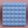 Lego 3958 Medium Blue 6x6 Plate, 4728 5858. Star Wars, Belville