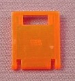 Lego 4346 Transparent Neon Orange 2x2x2 Door For 4345 Container Box. 1822 6190 2153 6195