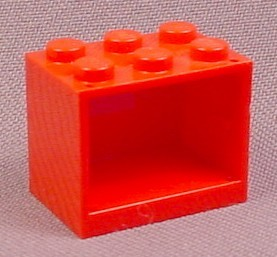Lego 4532 Red 2x3x2 Container Cupboard, Belville, Trains, Racers