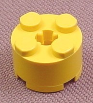 Lego 3941 Yellow 2x2 Round Brick With Technic Center Hole, Batman, Star Wars, Adventurers